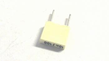 MKT capacitor 100 nF 100V RM5