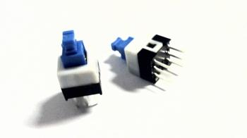 Drukschakelaar met maakcontact voor printmontage
