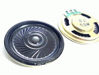 Miniatuur luidspreker 0,5 watt 36mm