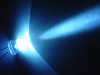 Witte LED 10mm