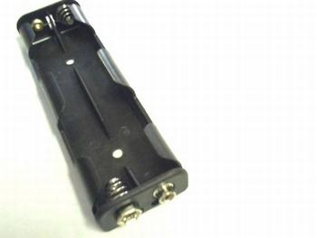 Batterijhouder 4 x AA langwerpig
