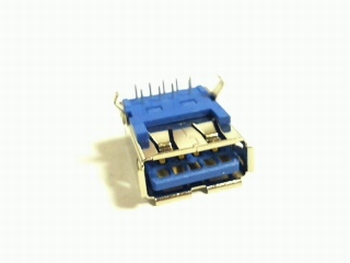 USB standard bus serie A for PCB 9 pins