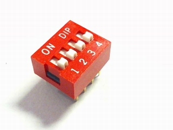Dip switch 4 in 1