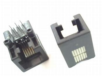 RJ12 connector houder