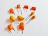 Tantaal condensator 1 uf 25 volt