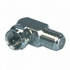 F-connector adapter naar haakse contra F-connector