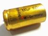 Electrolytische bipolaire condensator ROE 100 uF 100 Volt