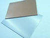 Aluminium plate with copper side 100mm x 75mm