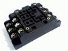 Relaisvoet HP3-SF voor HP3 3-polig relais met schroefcontact