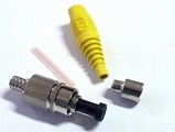 Fiber optics connectors